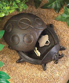 This Secret Storage Ladybug by Zingz & Thingz is perfect! #zulilyfinds