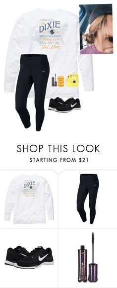 """""""Icon winners in d"""" by a-devo ❤ liked on Polyvore featuring Southern Proper, NIKE, tarte, Fuji and adevoiconcontest"""