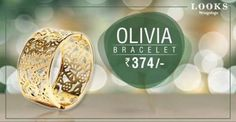 #Bracelet with beautifully crafted. #TogofogoLooks OLIVIA for Rs.374.Details at: http://bit.ly/29YCpO1