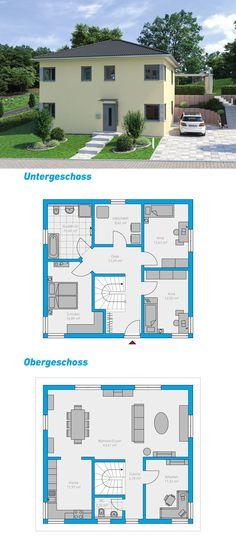 Montis 150 - schlüsselfertiges Massivhaus Hanghaus #spektralhaus #ingutenwänden #2geschossig #hanghaus #Grundriss #Hausbau #Massivhaus #Steinmassivhaus #Steinhaus #schlüsselfertig #neubau #eigenheim #traumhaus #ausbauhaus