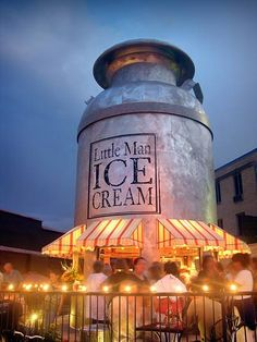 Best ice cream in Denver. Little Man Ice Cream @ 16th St and 30th Ave in the Highlands. Can't miss it.