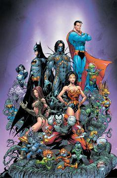 Comic Art Appreciation - DC / Top Cow: Crossover Classics // Joe ...