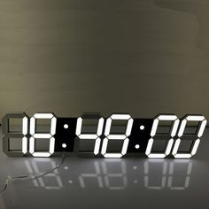Check lastest price Super Large Digital LED Alarm Clock Wall Clock Remote Control Countdown Timer Sports Timer Stopwatch just only $156.78 with free shipping worldwide  #clocks Plese click on picture to see our special price for you