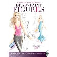 @Jennifer Lilya Fun, Fabulous Fashion Illustrations: Draw and Paint Figures | NorthLightShop.com