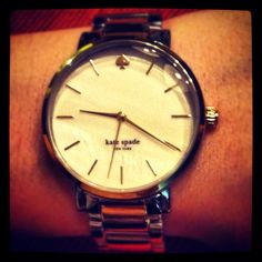 My sweet new watch!! <3 Hank