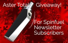 NEWSLETTER – Aster Giveaway