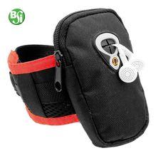 Fascia da braccio con porta cellulare / lettore MP3/MP4 in poliestere 600D.  #fasciadabraccio #smartphone #technology