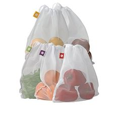 flip and tumble Set of 5 Reusable Produce Bags