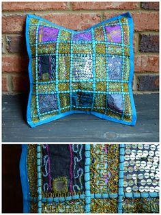 Handmade Small Pillow Sham from India #1