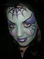Halloween fae pait | your temporary face and body art needs, from fabulous face painting ...