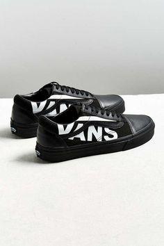 6ac56e40c802f2 Vans Old Skool Overbranded Sneaker · Vans ShopVans Old SkoolSkate ShoesFashion  OutletSkateboardUrban OutfittersBlack ...