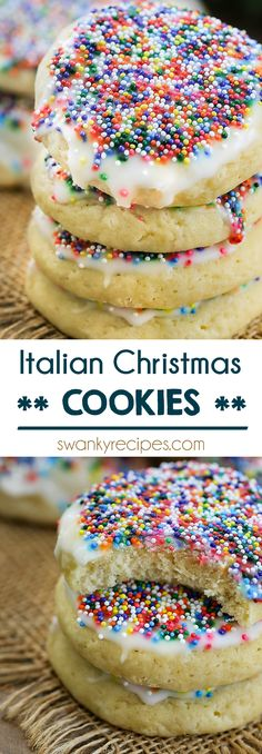 51 Best Italian Christmas Cookie Recipes Images In 2019 Italian