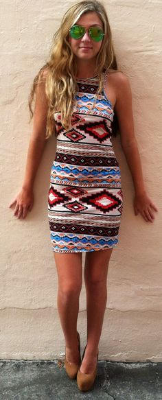The Mini Tribal Girl Dress - Boca Leche