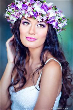 Flower Crowns: DIY on Pinterest | Flower Crowns, Floral Crowns and ...