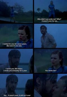 One of the best movie scenes ♥ the notebook