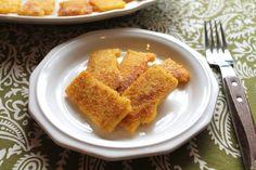 Pan-fried Cornmeal Mush {Amish Family Recipes)