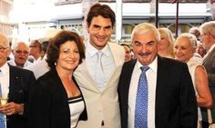 Roger wth his mom and dad.