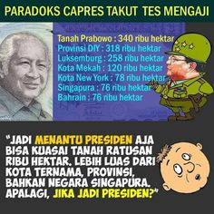 Jadi mantu presiden aja sudah kuasai lahan, gimana jadinya kalau jadi presiden?