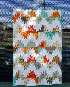 It took a little while to get back in the swing of things. Yesterday, when I started on the binding for this quilt, I wasn't sure I reall...