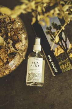 herbivore botanicals sea mist review, natural hair spray for beach waves review, tlv birdie blog, green beauty blog