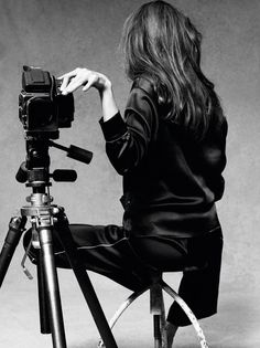 Shooting Film: Angelina Jolie's Self-portraits with a Hasselblad