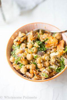 VEGAN-glutenfree-chickpea-sweet-potato-salad-lunch-delicous-healthy