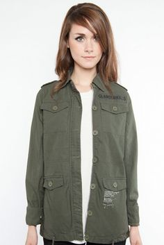 Glamor Kills Army Jacket