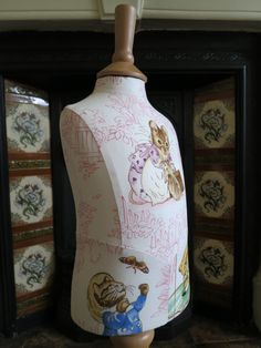 Baby Beatrix Potter Pink Display Mannequin (In Stock)