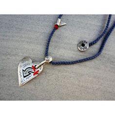 Babylonia popular silver handmade necklace with symbols