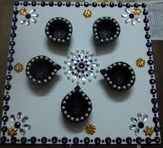 Image result for diya decoration