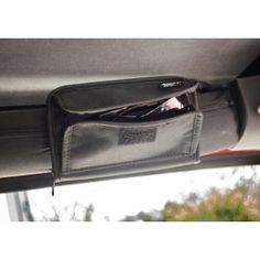 Sunglass Holder Storage Pouch 07-13 Jeep JK Wrangler