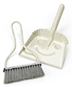 Look at this Ivory Brush & Dustpan on #zulily today!