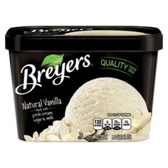 I'm learning all about Breyers Ice Cream Real Natural Vanilla at @Influenster!