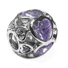 Sterling Silver Large Love Hearts All Around Bead Charm with Purple Crystals ARG http://www.amazon.com/dp/B00FN9RPE2/ref=cm_sw_r_pi_dp_iQ9kwb05570G0