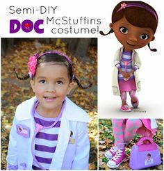 tastefull the doc is in semi diy doc mcstuffins costume halloween - Doc Mcstuffins Halloween Bag