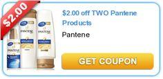 Pantene Coupon $2.00 Off 2
