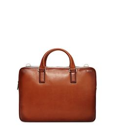 Fulton Leather File Brief - JackSpade - this is so gorgeous and simple. love it.