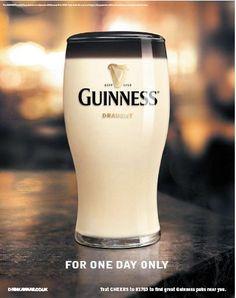 Guinness 'April Fools Day' - Advertising Showcase | UTalkMarketing