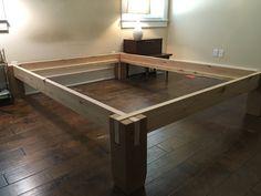 Somier de madera con muescas por NOWwoodworks en Etsy