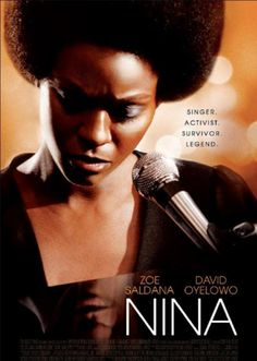 "Zoe Saldaña as Nina Simone, in ""Nina"", 2016. I must get old, or stupid, or both. I really don't undestand why people were/are so harsh with this movie. For me, Saldaña does a great, incredible job impersonating Nina. Sure, the plot and the budget doesn't helped, But Saldaña holds powerfully the torch ilumminating the period of Nina's life chosen to be protrayed in the movie. In the musical numbers Saldaña was absolutely credible and moving. See for yourself and take your own conclusions."