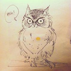 Day 97 - sassy owl