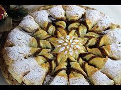 Estrella de hojaldre con nutella y turrón de Navidad ⭐️🎄 | Dulces navideños sin lactosa - YouTube