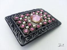 Bling belt buckle, Women's, Teens, Bling,  Swarovski cyrstals,  gift for her, Free shipping  $55.00