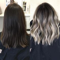 Before|after #repost #timeforachange #bronde