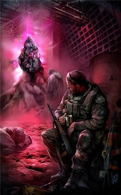 Иван Хивренко-иллюстратор серии книг S.T.A.L.K.E.R.