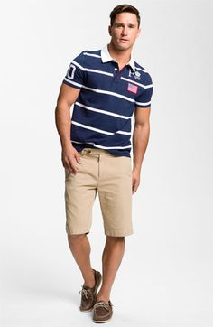 Façonnable Polo & Brooks Brothers Twill Shorts | Nordstrom