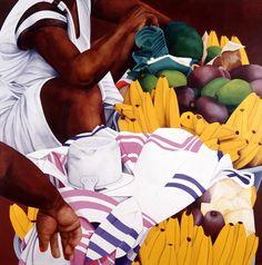 Ana Mercedes Hoyos. Bazurto 10. Hispanic American, American Art, Colombian Art, So Creative, My Favorite Image, Famous Artists, Color Inspiration, Art Inspo, Artsy