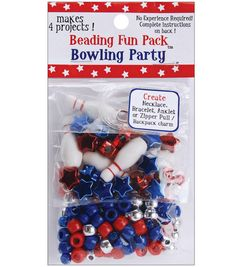 Beading Fun Packs-Bowling Party(TM)