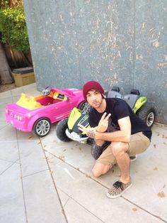 Alex is doing one of those MTV Cribs things where he shows off all the money he makes with his top notch cars