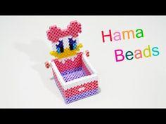 Cestino Pasquale Con Hama Beads / Pyssla | Perler Beads Easter Basket Tutorial - YouTube
